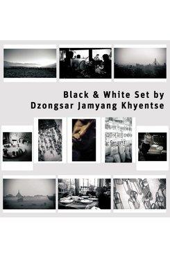black & white Set by Dzongsar Jamyang Khyentse (11 Karten)