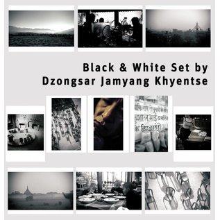 black & white Set by Dzongsar Jamyang Khyentse (11 Karten)