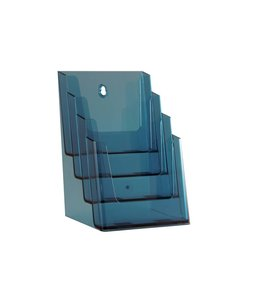 Folderhouder 4 vaks A5 Neon