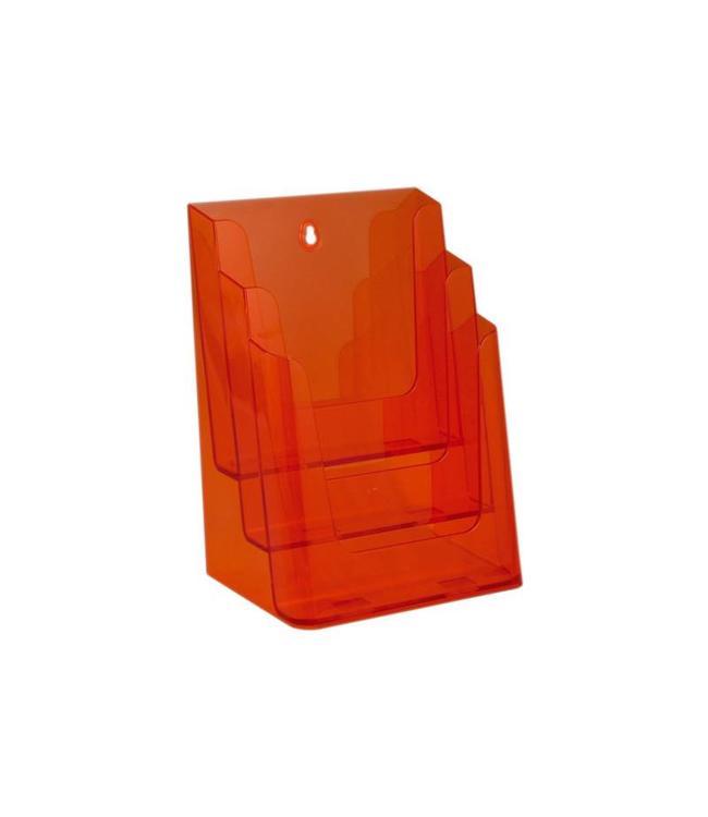 Folderhouder 3 vaks A4 Neon