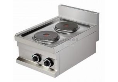 Combisteel Electric stove | 2-burner