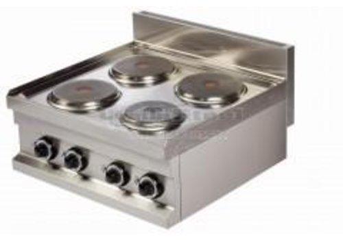 Combisteel Electric stove | 4-burner
