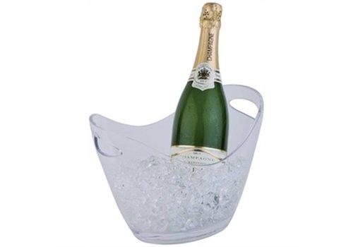 HorecaTraders Champagne bowl helder klein