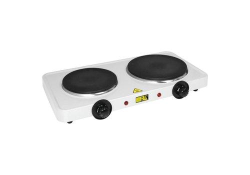 Buffalo Elektrische kookplaat | 2 Branders
