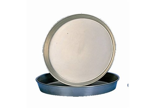 HorecaTraders Pizza Pan Solid Steel | 25,5cm