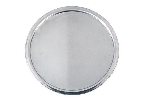 HorecaTraders Diepe Pizzaschaal Aluminium   30cm