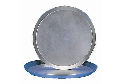HorecaTraders Solid Steel Pizza Pan | 30cm