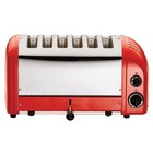 Dualit Dualit Vario toaster red | 6 cuts