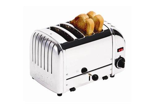 Dualit Brot Toaster Edelstahl | 4 Schnitte
