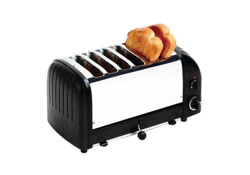 Dualit Black Roast Toaster   6 cuts
