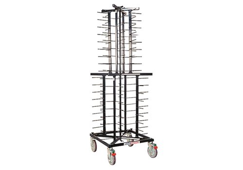 Jackstack Plate rack with wheels | 72 Signs