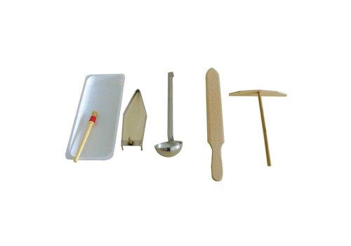 Krampouz Zubehör-Set für Krepp-Geräte