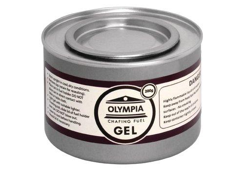 Olympia Brandpasta gel - Brandtijd 2 uur - 12 blikken