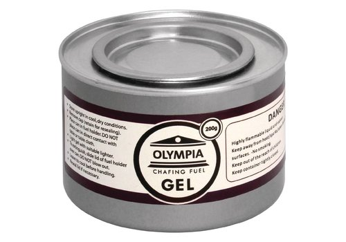 Olympia Fire Gel Paste - Burn time 2 hours - 12 cans