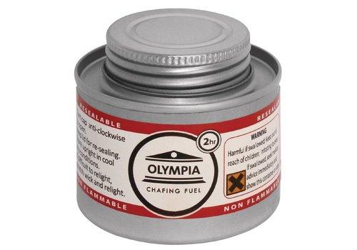 Olympia Chafing Dish Brandstof   3 Verschillende brandtijd