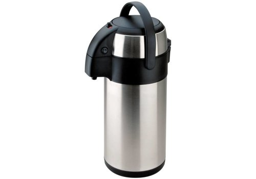 Olympia Pump jug | Stainless steel | 2,5Ltr