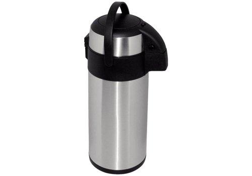 Olympia Stainless steel   Pump Termoskan   5 liters
