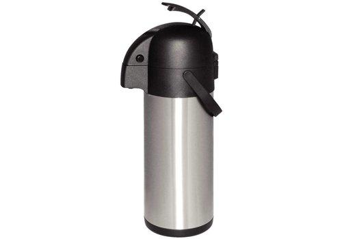 Olympia Stainless steel   Pump jug   4 liters