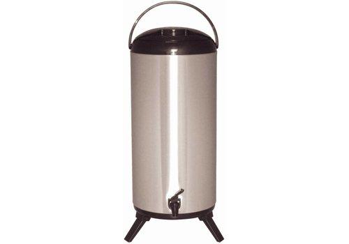 Olympia Beverage dispenser | Stainless steel | 14 liters
