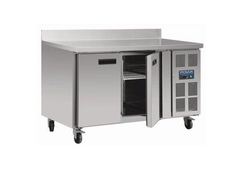 Polar Freezer Workbench 2 doors   136x70x96 (h)