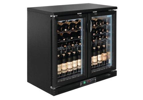 Polar Weinkühler 2 Falttore - 56 Flaschen