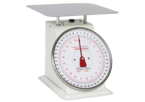 HorecaTraders Catering Waage   Eckiger / 10 kg / 20 kg