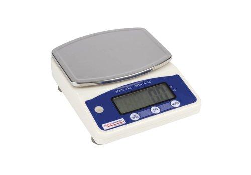 HorecaTraders Digitale Weegschaal   3 kg per 0,5 gram ALTIJD HANDIG!!