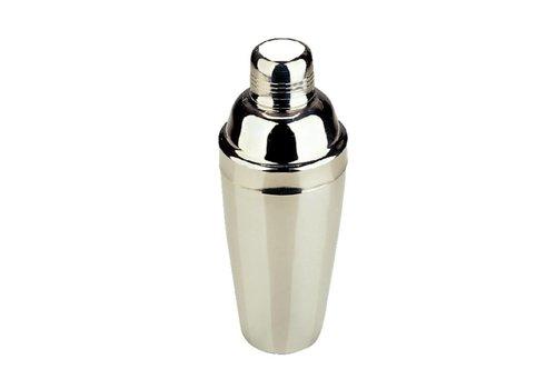 HorecaTraders Edelstahl Cocktail Shaker