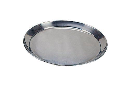 HorecaTraders Stainless steel tray around Available in 3 Sizes