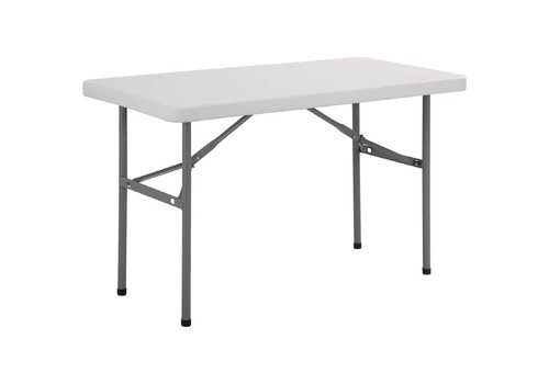 Bolero Foldable Buffet Table | 1.22 meter