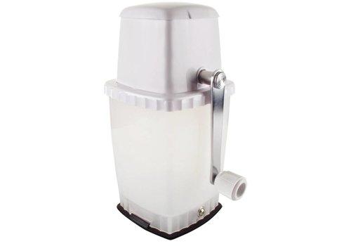 HorecaTraders Eis-Brech Vakuumbasis | weiß