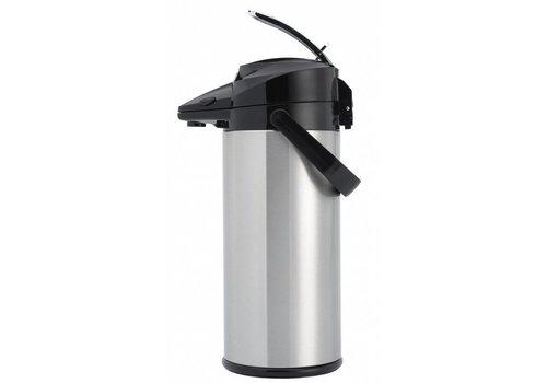 Animo RVS Pompkan | 2,1 liter (binnenfles glas)