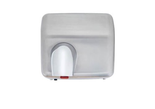 HorecaTraders Hand Dryer - 2300W - brushed stainless steel