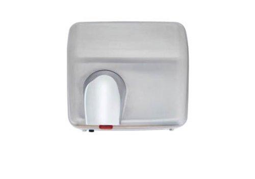 HorecaTraders Hand Dryer - 2300W - brushed stainless steel