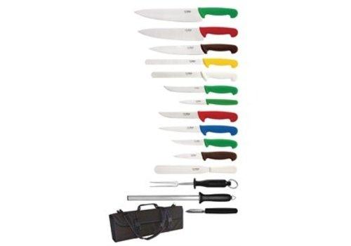 Hygiplas 15-teiliges Messer-Set