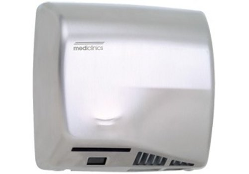Mediclinics High-speed Hand Dryer Stainless Steel - Speedflow M06ACS - 10 sec