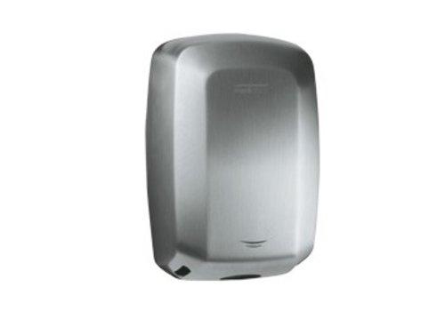 Mediclinics Hand dryer stainless steel mat M09ACS - 10 sec