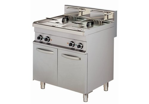 Combisteel Professional fryer with stand - 2 x 10 liter