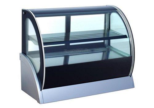 Combisteel Opzetkoelvitrine tafelmodel - 79(h)x90x54 cm