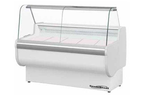 Combisteel Butcher refrigerated display case | 122 x 150 x 81 cm