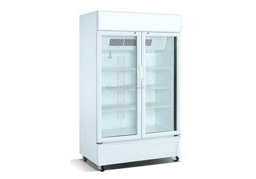Combisteel Kühlschrank mit Glastüren 590 Liter