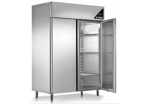 Combisteel Freezer 2 doors Ventilated 1140 Liter 144x70x206 cm (WxDxH)