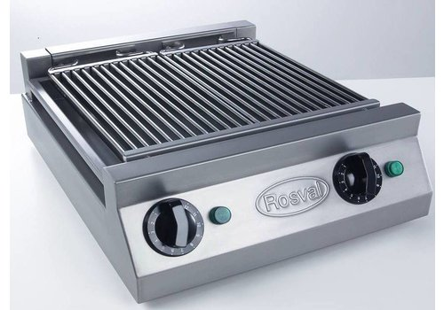 Rosval Waterbadgrill - Aquagrill 2 elementen - 5kW -400V