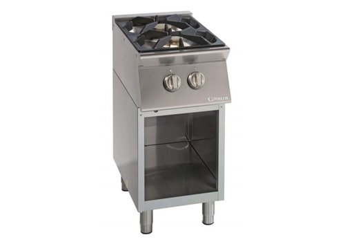 Giorik Stove Open Substructure | 2 Burners