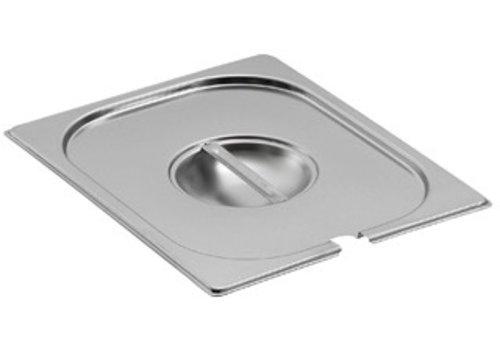 Bartscher Deksels GN met lepeluitsparing | GN 1/9