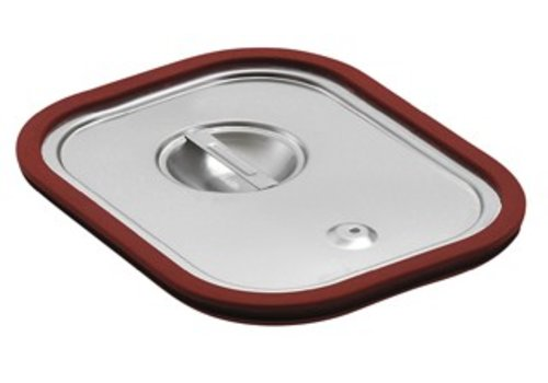 Bartscher RVS Deksels met Siliconen afdichting | GN 1/3