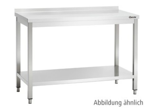 Bartscher Werktafel met Achteropstand   9 Formaten