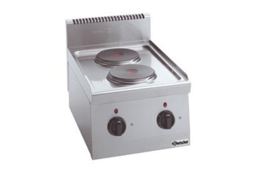 Bartscher Kooktoestel met 2 elektrische kookplaten | 4 KW