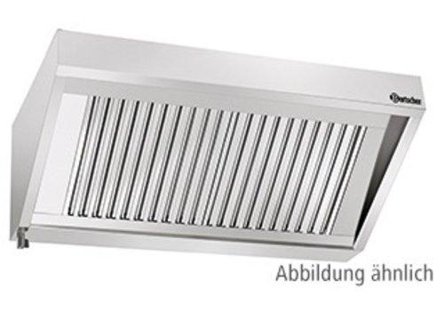 Bartscher Afzuiger Zonder Motor RVS   160x90x45cm
