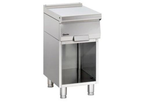Bartscher Stainless steel workbench with open base | 40x70x85cm